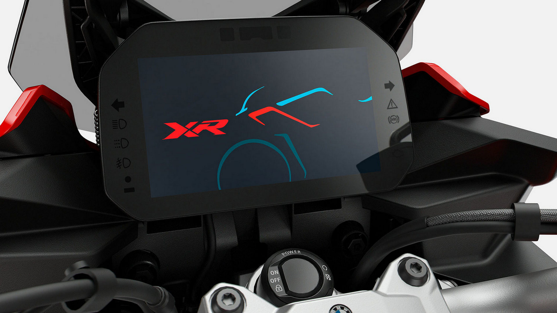 Приладова панель BMW Motorrad Connectivity з TFT-дисплеєм.