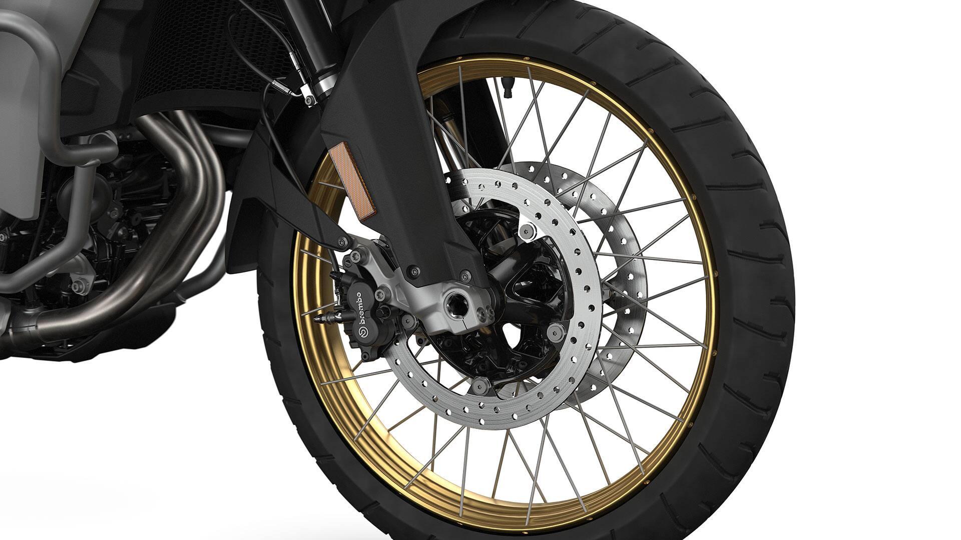 Золотые анодированные колесные диски