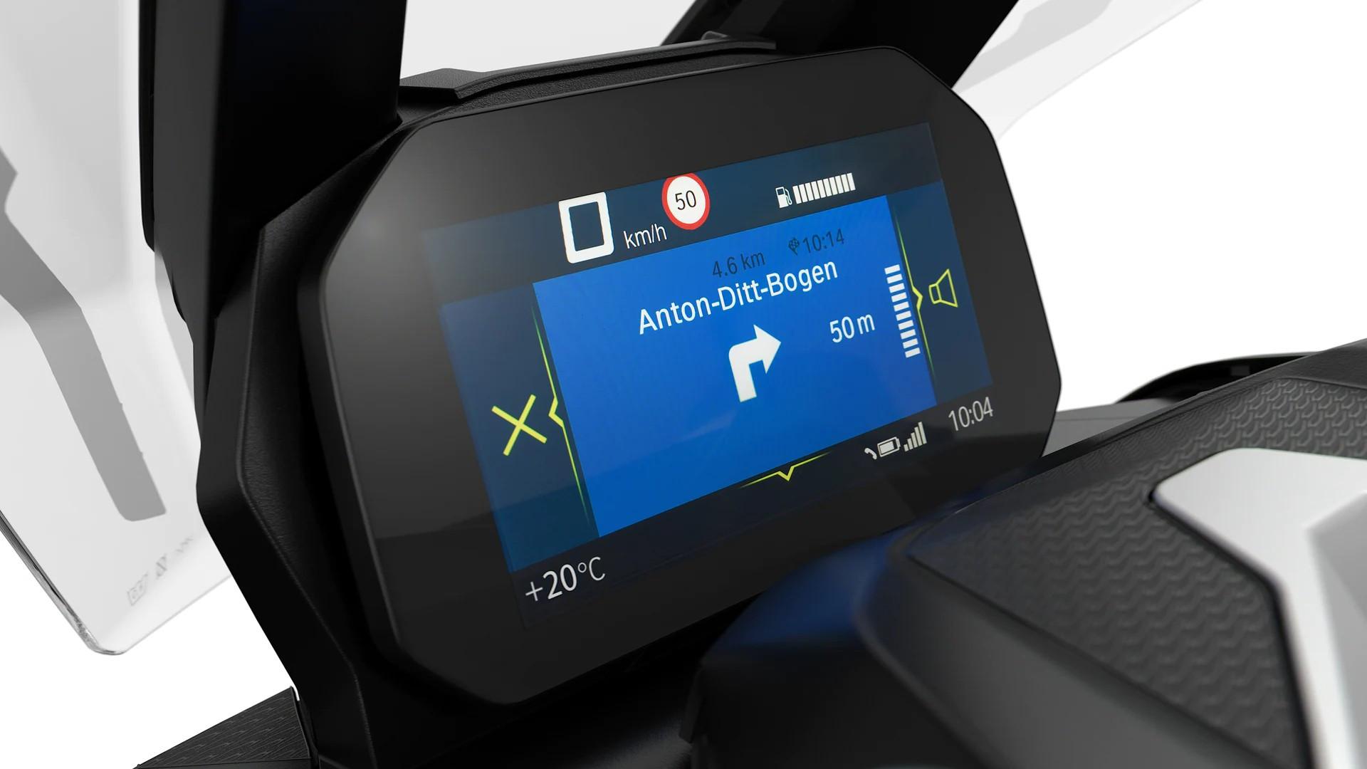 BMW Motorrad Connectivity с мультиконтроллером