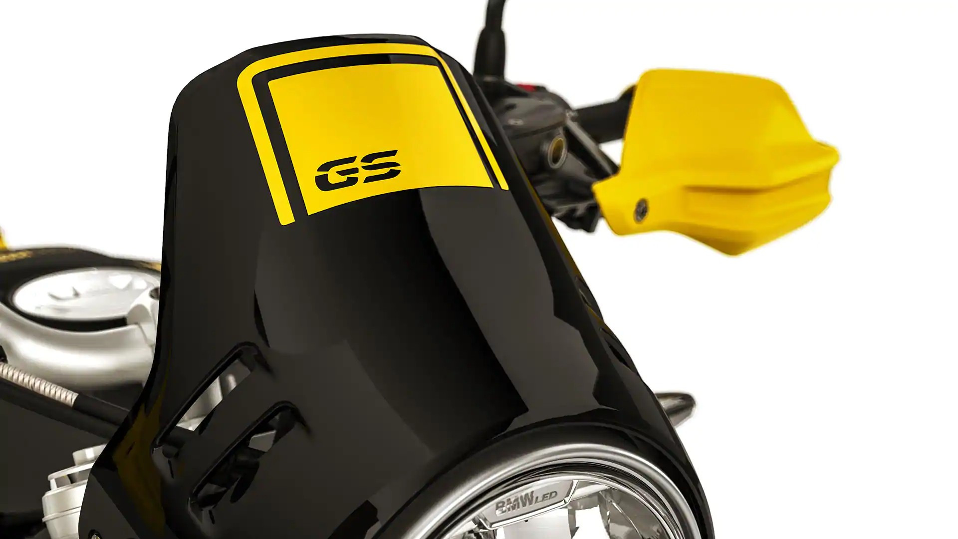 Ветрозащитный щиток с логотипом GS