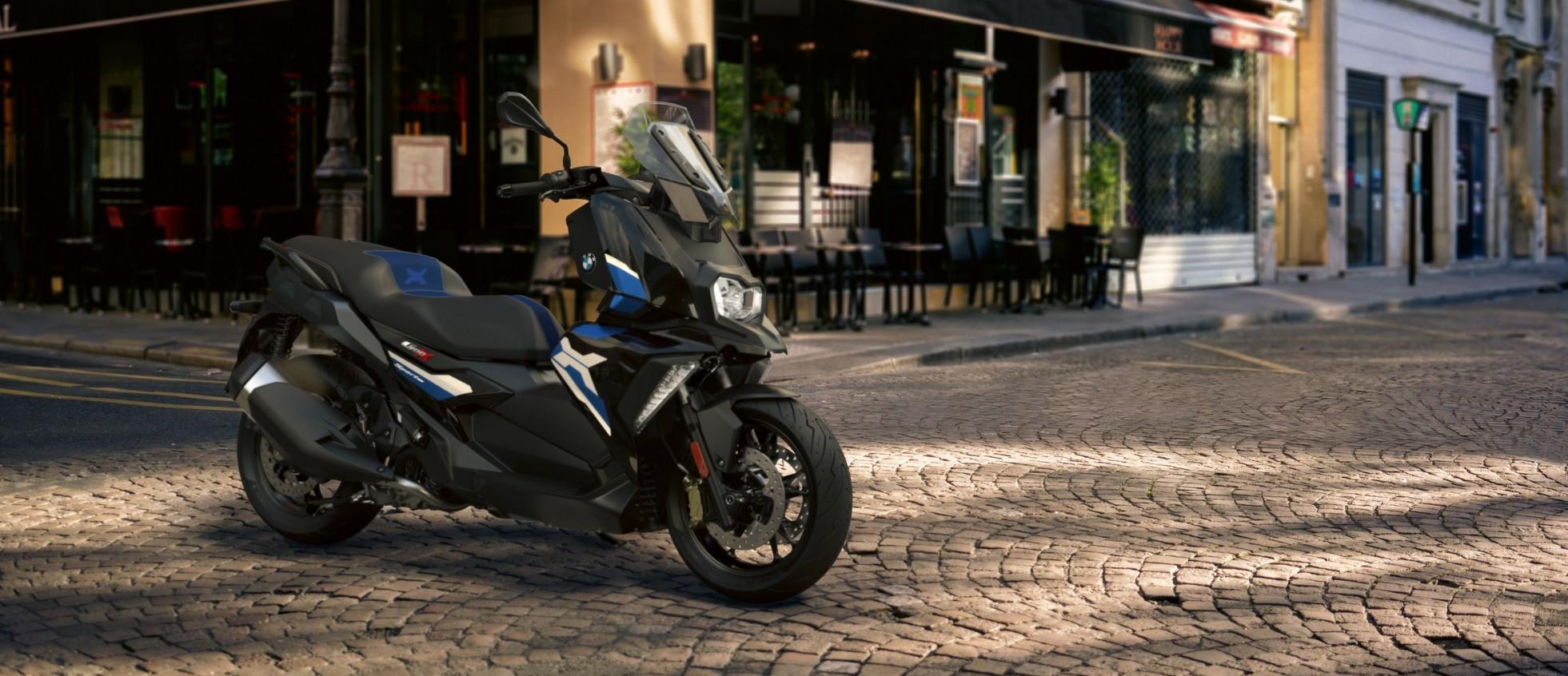 Новые BMW C 400 X и C 400 GT