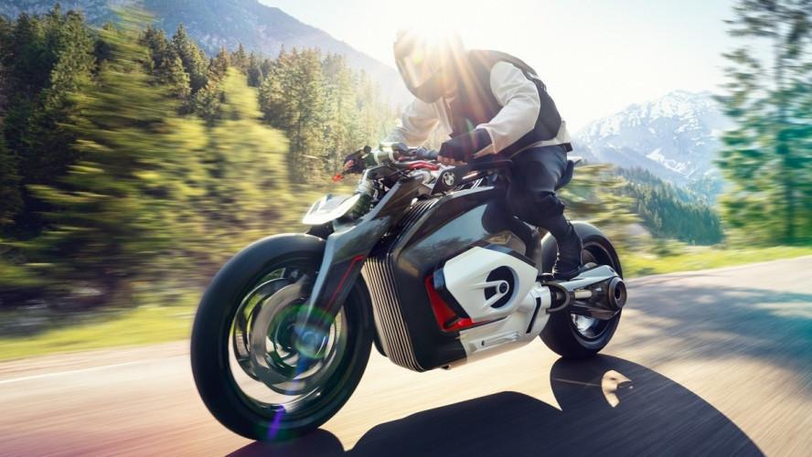 BMW Motorrad представляет Vision DC Roadster.
